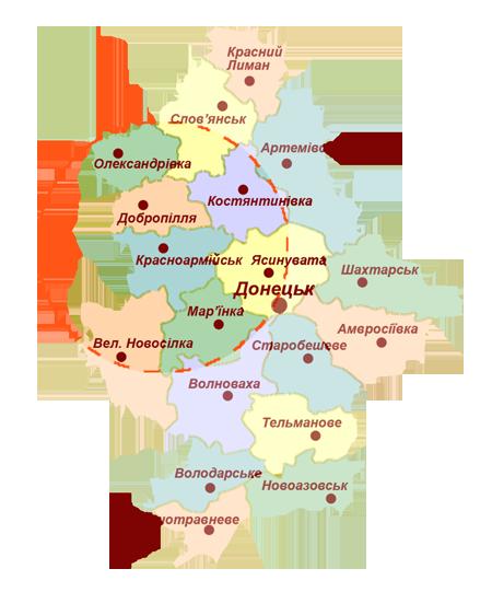 Карта вещания