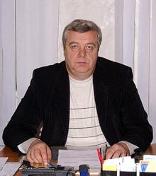 Начальник Управления Пенсионного фонда Украины в Красноармейске В.И. Початовский