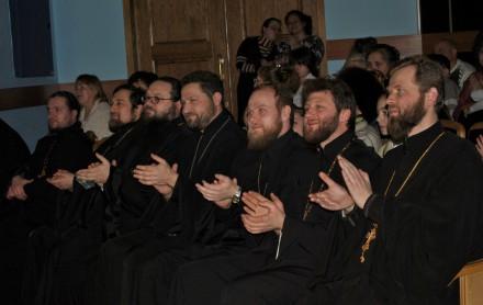Воспитанники воскресных школ Красноармейска и района представили театрализованную программу «Под сенью Рождества»