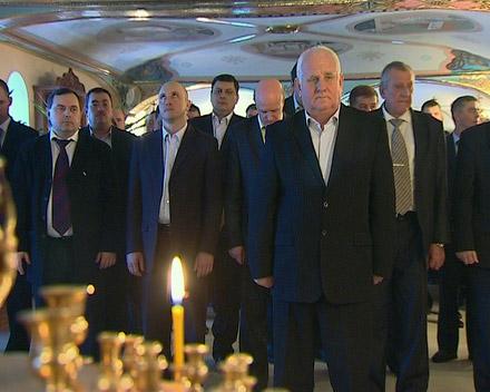 """Горняки ШУ """"Покровское"""" празднуют Рождество"""