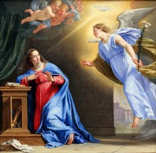 «Птица гнезда не вьет, девица косы не плетет». Православные отмечают Благовещение