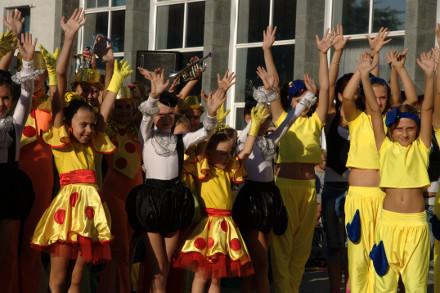 Сегодня в ДК ПАТ «Шахтоуправление «Покровское» открыли творческий сезон (ФОТО)