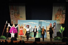 Сегодня маленьких красноармейчан порадовал музыкальный спектакль «Кот в сапогах» (ФОТО)