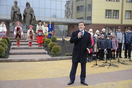 Открытие памятника Кириллу и Мефодию