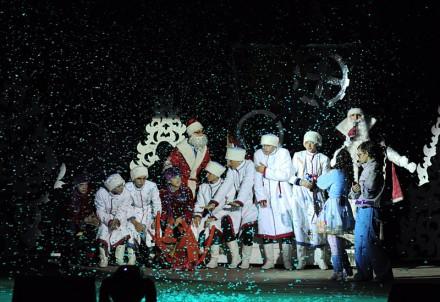 В ДК ПАО ШУ«Покровское» представили рождественскую сказку