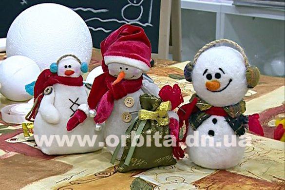 Рождественский подарок своими руками