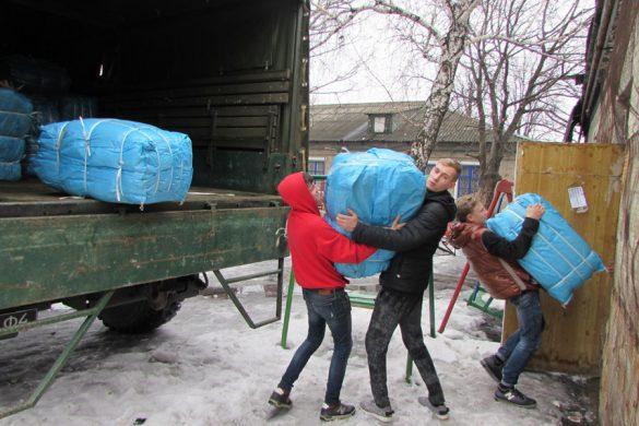 Гуманитарный груз для «Отчего дома» привезли из Латвии