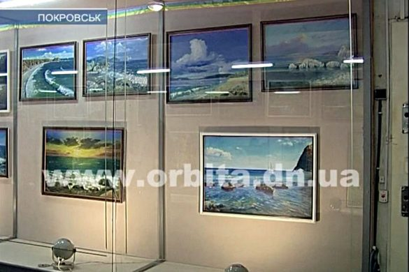 Валерий Жадан представил новую выставку картин