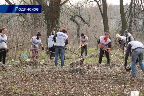 Сергей Андрийченко: «К поминальным дням кладбище Родинского будет чистым»