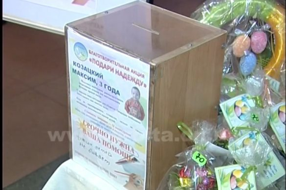 Коллектив ШУ «Покровское» принял участие в благотворительной акции