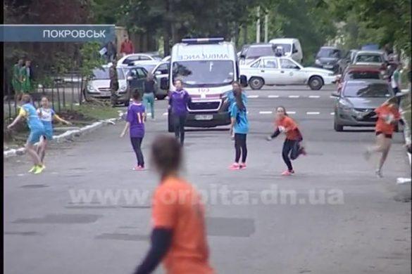 Среди покровских школьников определили самого быстрого бегуна