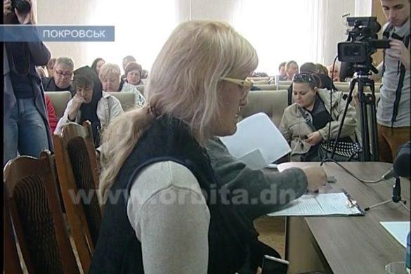 Более 70 горожан пришли на прием Покровского городского головы