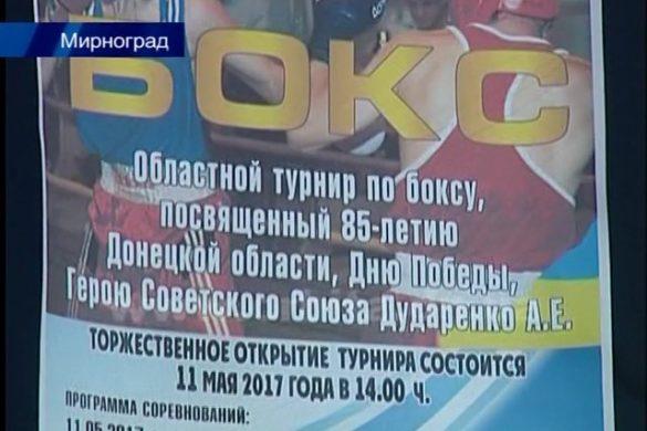 Под патронатом нардепа Евгения Геллера в Мирнограде прошел 4-й областной чемпионат по боксу
