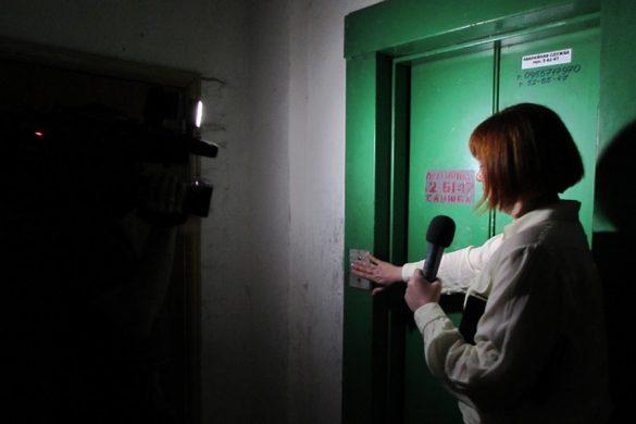 Нескольким домам в микрорайоне «Лазурный» устроили темную