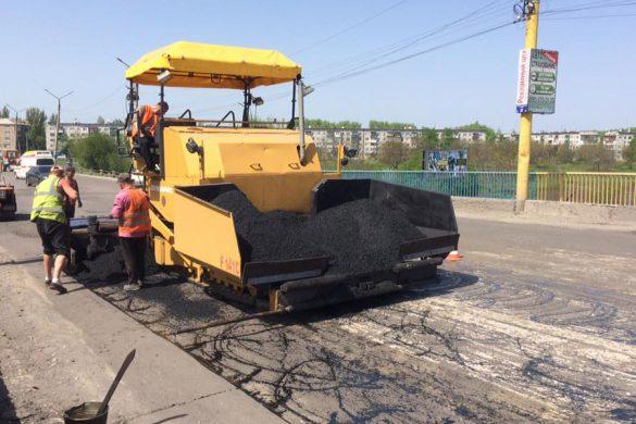 Попытка №2: в Покровске стартовал ремонт дорог