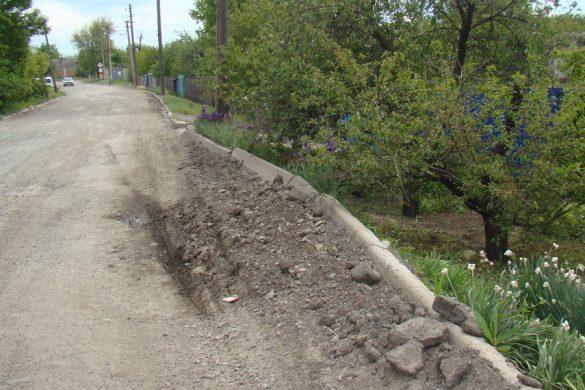 Статус «всеукраинской» пошел во вред дороге в поселке Шевченко