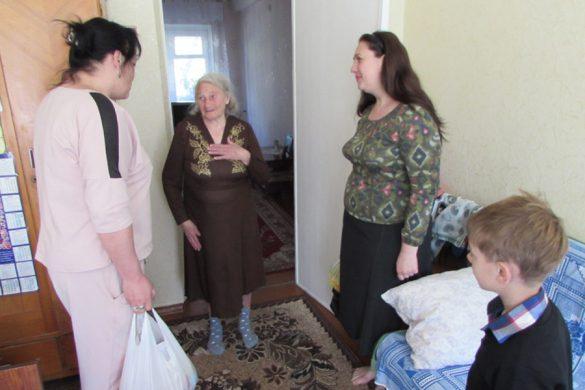 Накануне 9 мая Покровский терцентр не оставил без внимания ветеранов