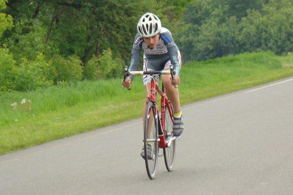 Районный велоклуб «Темп» провел традиционные соревнования
