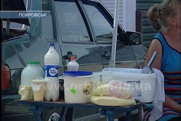Стихийный рынок в жару: опасные домашние продукты?