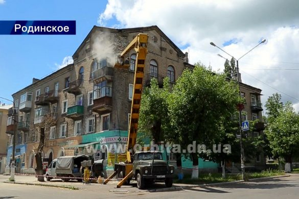 Покровские власти для реставрации дома в Родинском привлекли  технологии  торкретирования