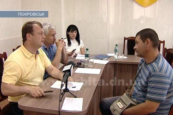 Личный прием мэра Покровска снова прошел с аншлагом
