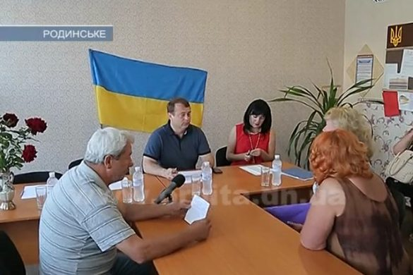 С 7 утра Покровский мэр принимал жителей Родинского