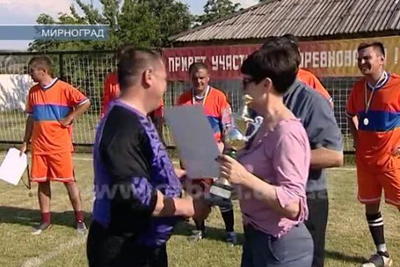 Определился победитель футбольного турнира среди работников «Углепромтранса»