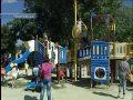 В День защиты детей в Покровске открыли новые игровые и спортплощадки