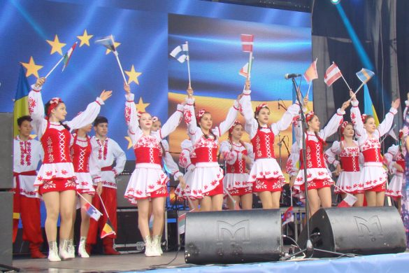 Покровск с размахом отметил День Европы