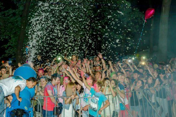 Жители Покровска ярко и красочно отметили День молодежи