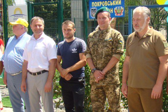 Первая ласточка: в Гришинской школе открыли современную спортплощадку