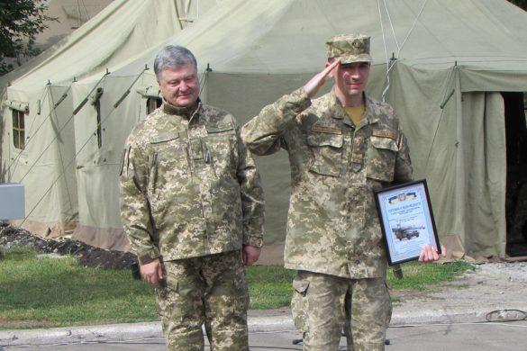 Президент Украины в Покровске: поздравления военных медиков  и обещание возобновления водоснабжения