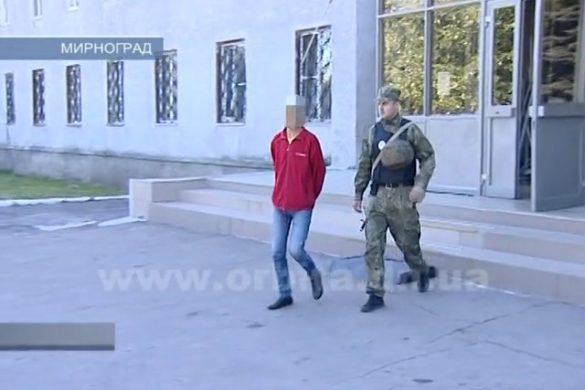 Полицейские Мирнограда поймали серийного вора