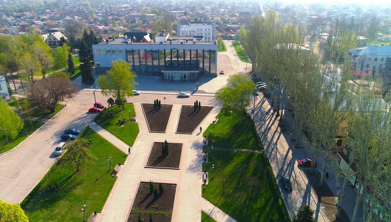 Джерела 2 (м. Покровськ, площа Шибанкова та Палац культури) 23.04.2019 HD